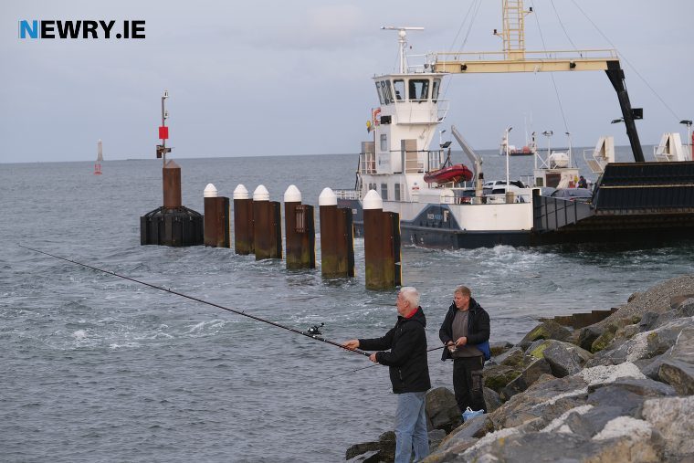 The Carlingford Lough Ferry at Greenore. Photograph: Columba O'Hare