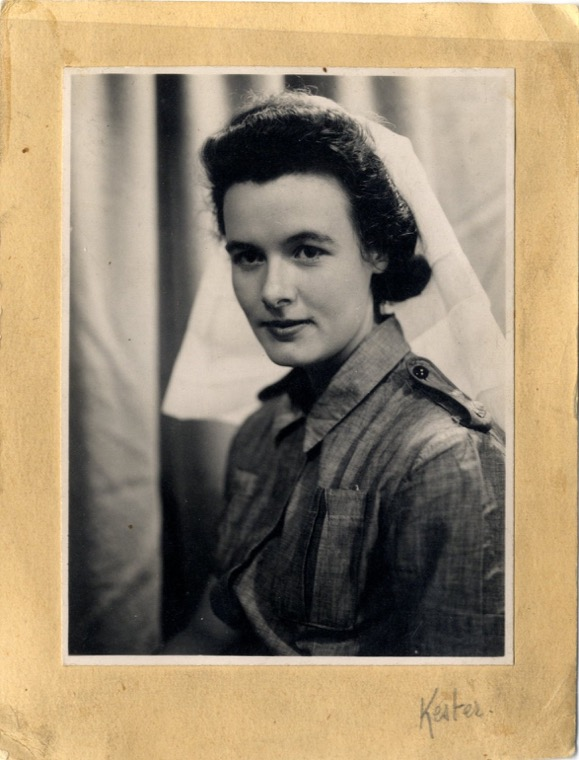 Patricia Mahood, April 1946. Newry and Mourne Museum Collection