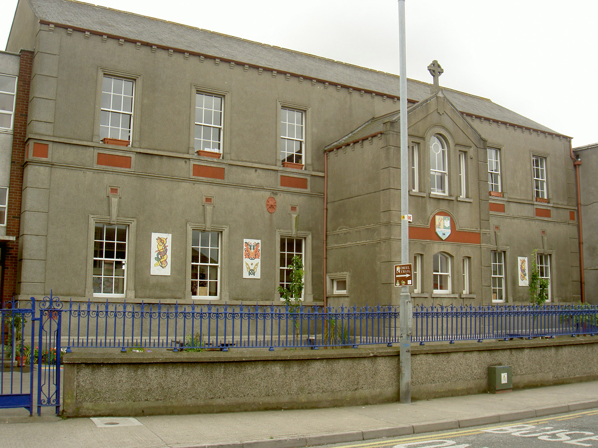 The Christian Brothers' School on Upper Magdalene Street, Drogheda, where T.K. Whitaker attained honours in his Leaving Certificate. © Government of Ireland
