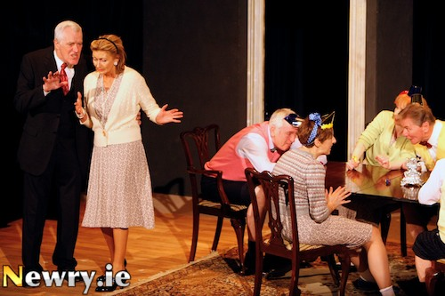 The Dining Room by Bart Players kicked of Newry Drama Festival. Photograph: Columba O''Hare