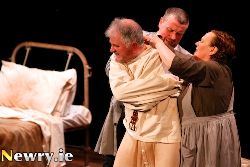 The Steward of Christendom took third place at Newry Drama Festival. Photograph: Columba O'Hare