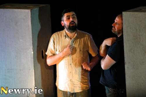Chronicles of Long Kesh took fourth place at Newry Drama Festival. Photograph: Columba O'Hare