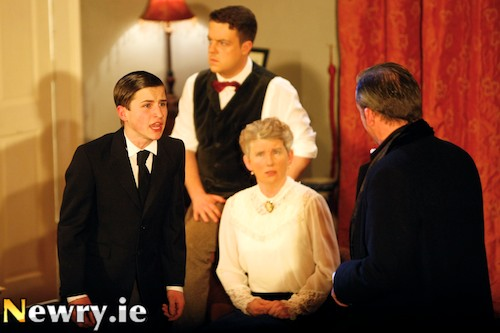 The Winslow Boy took second place at Newry Drama Festival. Photograph: Columba O'Hare