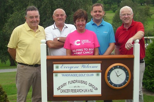 1st Prize Winners, from left - Joe Campbell Joe Donaghy Stephen Burns Terry McCann