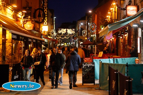 Thanks to NUI Galway you could find yourself in Quay Street in Galway this Autumn. Photograph: Columba O'Hare