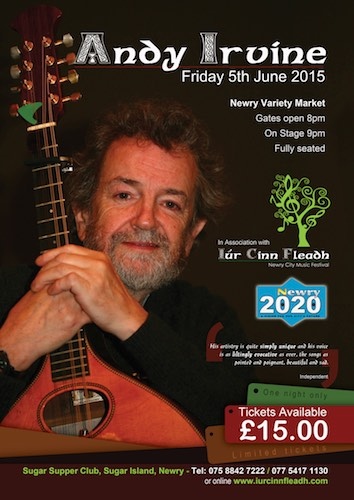 Andy Irvine, NEwry Variety Market, Friday 5th June 2015