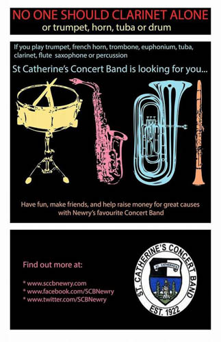 Get in touch with St Catherine's Band