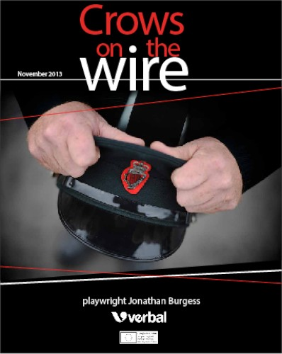 Crows on the Wire will be performed in Newry on the 20th of November.