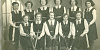 Newry Grammar School Girls Hockey Team c.1950.  Hockey was popular among girls at Newry Grammar School and they competed for the Ulster Schools Cup and the Consolation Cup.   Newry and Mourne Museum Collection