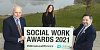 Launching the NI Social Work Awards are Health Minister Robin Swann with Paul Morgan, Southern Trust's Executive Director of Social Work and Michaela Michaela Glover, Head of Social Work Governance, Health and Social Care Board.