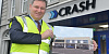 Jonathan McKeown, CEO CRASH Services with new Stockmans Lane, Belfast redevelopment plans.