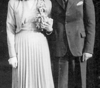 James Murphy and Gladys Fegan pictured at their wedding in Liverpool on 9th April 1947. Courtesy of Rosemary Stretton