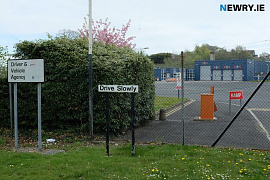 Newry Driving Test Centre. Photograph: Columba O'Hare/ Newry.ie