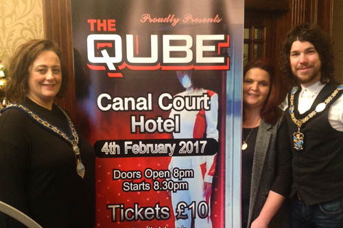 cuan mhuire launch qube fundraising night. Black Bedroom Furniture Sets. Home Design Ideas